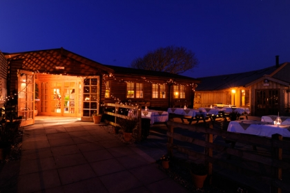 Trevaskis Farm at night