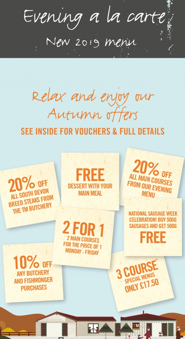 Autumn Offers 2019!