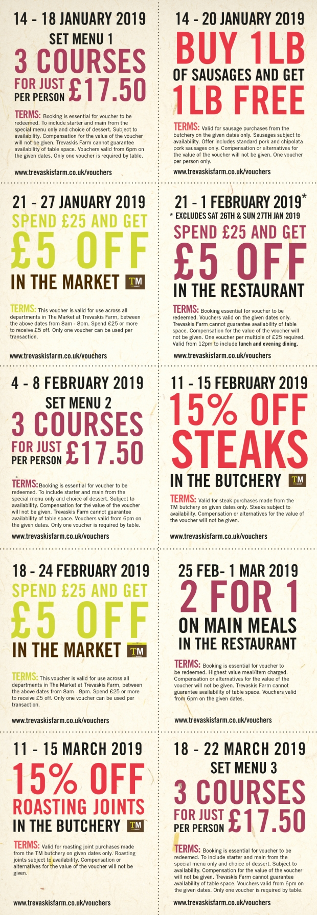 OUR NEW YEAR OFFERS ARE HERE!